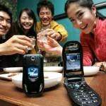 LG LP4100 – matkapuhelin kännipuhelujen estolla
