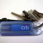 RFID Luottokortti avaimenperässä