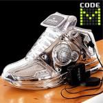Kengät MP3 soittimella