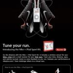 Nike + iPod urheilusetti