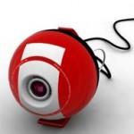 Satugo – webbikamera kumipallo