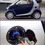 Smart autosta sähkömoottorilla varustettu versio