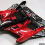 Fly Wheels XPV radio-ohjattava lentoauto