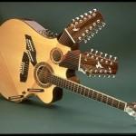 42 kielinen akustinen kitara
