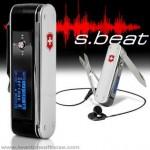 Victorinox s.beat – linkkuveitsi MP3 soittimella