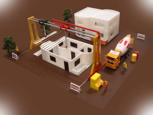 robotti rakentaa talon