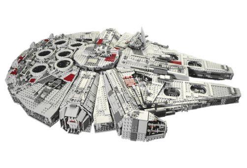 Suurin Lego-rakennussarja ikinä on Millenium Falcon