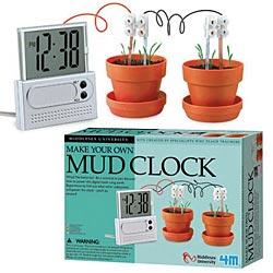 Mutakello Mud Clock saa energiansa mullasta