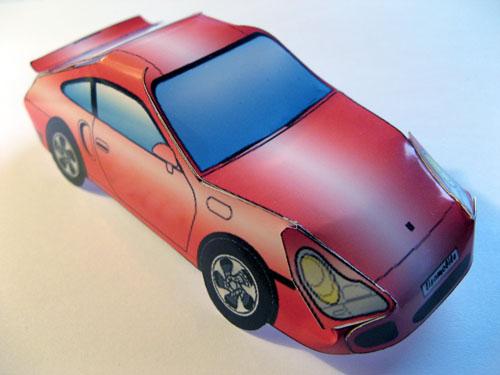 Punainen Porsche