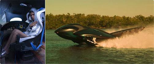 SeaPhantom - tulevaisuuden moottorivene
