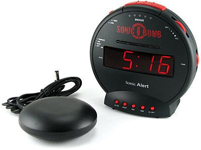 Sonic Bomb maailman äänekkäin herätyskello