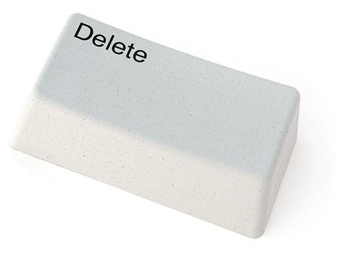 pyyhekumi delete näppäin