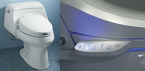 WC automaattisella alapesulla