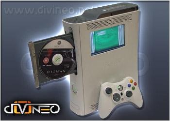 Xbox360 sisäänrakennetulla näytöllä