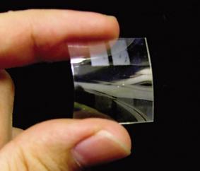 Joustava ja läpinäkyvä orgaaninen polymeeri akku