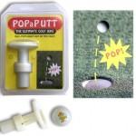 Pop-a-Putt pukkaa golfpallon ylös reijästä