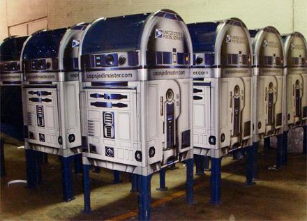 R2D2-postilaatikko