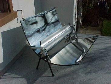 Aurinkopeili grilli