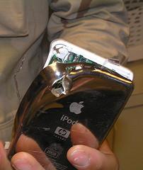 Taskussa ollut iPod pysäytti luodin ja pelasti amerikkalaissotilaan hengen