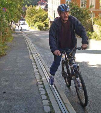 Norjalainen polkupyörähissi Trampe