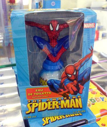 Hämähäkkimies parfyymi