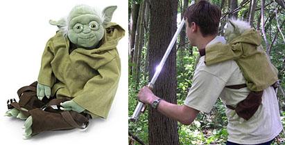 Yoda selkäreppu