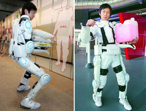 Lihaksia avustava HAL robottipuku