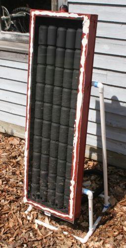 Tee-se-itse passiivinen aurinkoenergialla toimiva lämmitin
