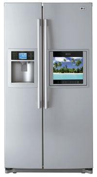 Jääkaappi LCD HDTV televisio
