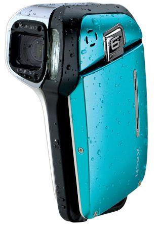 Sanyo Xacti E1 - maailman ensimmäinen vesitiivis videokamera kotikäyttöön
