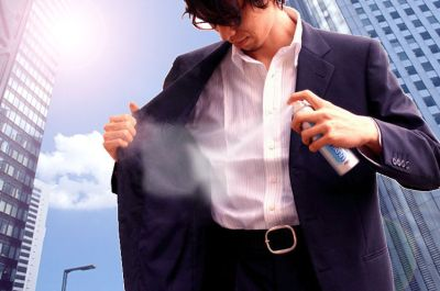 Henkilökohtainen ilmastointi spray purkki