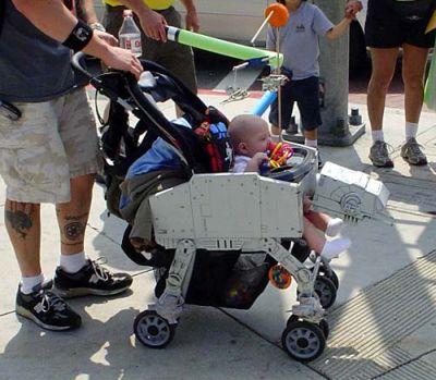 AT-AT kävelijä-lastenvaunut