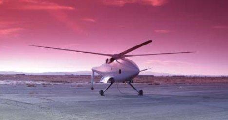 Miehittämätön Boeing A160T Hummingbird helikopteri