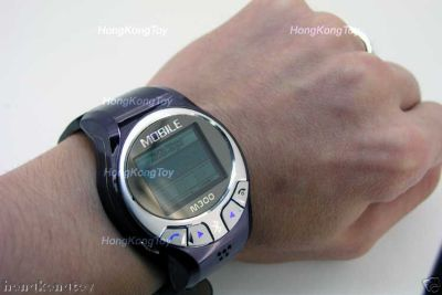 M300 GSM puhelin-rannekello kaupan eBayssa
