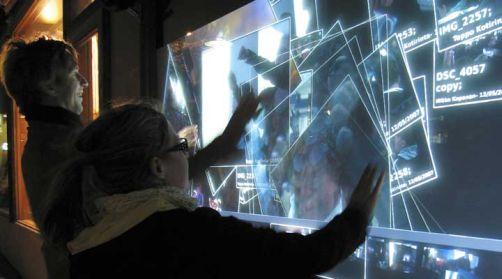 Multi-touch kosketusnäyttö testattavana Helsingissä