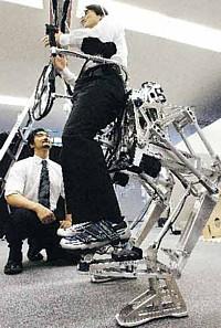 Robottijaloilla astut seitsemän kertaa pidemmälle