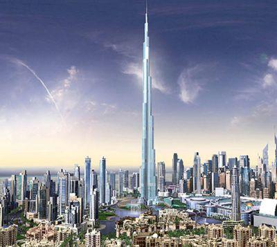 Burj Dubai on uusi Maailman korkein rakennus