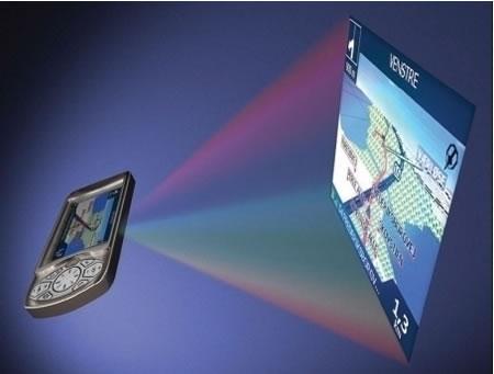 Kännykkään integroity nanoporjektori tulossa syyskuussa