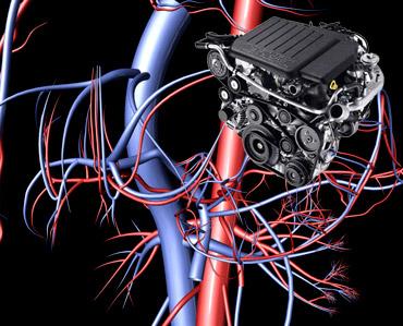 Nanogeneraattori tuottaa sähköä verisuonten virtauksesta