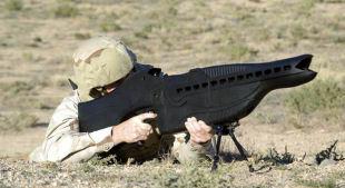 Laserkivääri viiden kilometrin kantamalla suunnitteilla