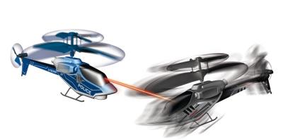 PicooZ Sky Challenger - rosvoa ja poliisia kauko-ohjattavilla helikoptereilla