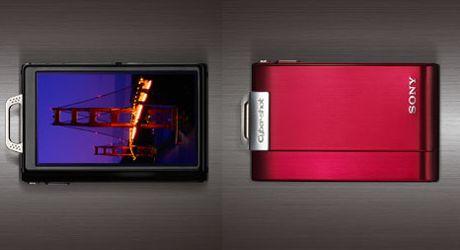 Sony Cyber-Shot DSC-T200 tunnistaa hymyilevät ihmiset