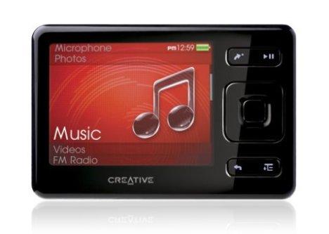 Uusi Creative Zen MP3 soitin