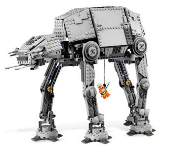 Legolta moottoroitu AT-AT kävelijä