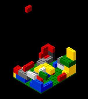 Lego-näytönsäästäjä