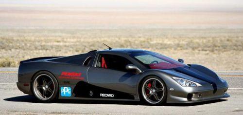 SSC Ultimate Aero TT - uusi maailman nopein tuotantoauto