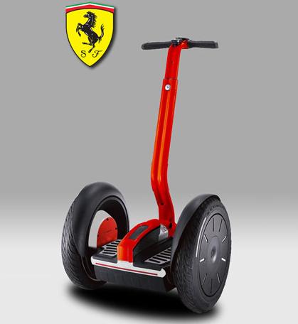 Segway PT i2 Ferrari - Ferrari-brändätty Segway