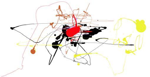 Taiteile flash-sovelluksen avulla kuten Jackson Pollock