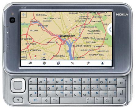 Nokia N810 Internet tabletti julkaistu