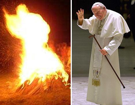 Paavi kummitteli Puolalaisessa kokossa